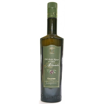 Extra virgin olive oil surface - Galantino