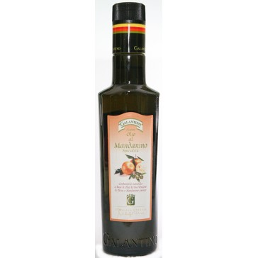 Extra virgin olive oil with mandarin - Galantino
